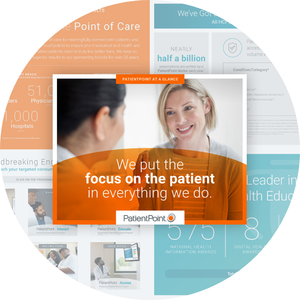 We put the focus on the patient in everything we do.