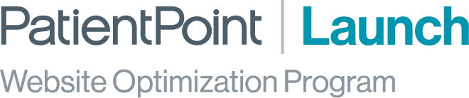 PatientPoint Launch Website Optimization Program