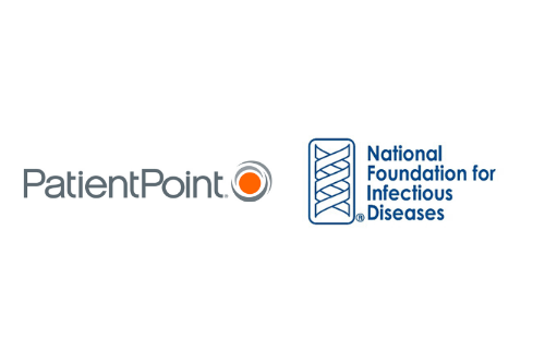 PatientPoint and National Foundation for Infectious Diseases logo