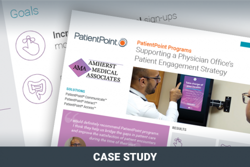 Supporting a Physician Office's Patient Engagement Strategy