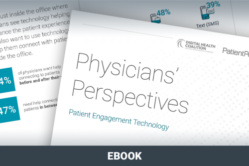 Physicians' Perspectives Patient Engagement Technology