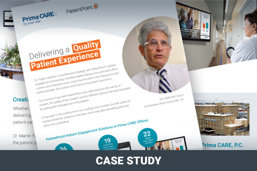 Case Study: Delivering a Quality Patient Experience