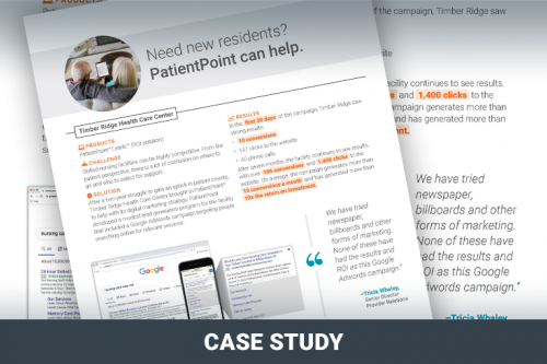 Need new residents? PatientPoint can help.