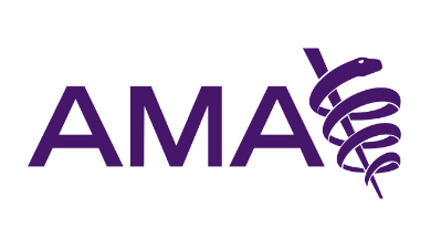 American Medical Association (AMA) logo.