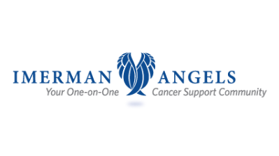 Imerman Angels Your One-on-One Cancer Support Community logo.
