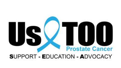 Us too, prostate cancer. Support. Education. Advocacy.
